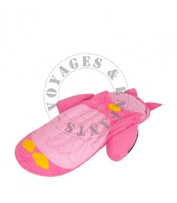lit dappoint gonflable pour enfant chouette hibou rose - Lit D Appoint Enfant