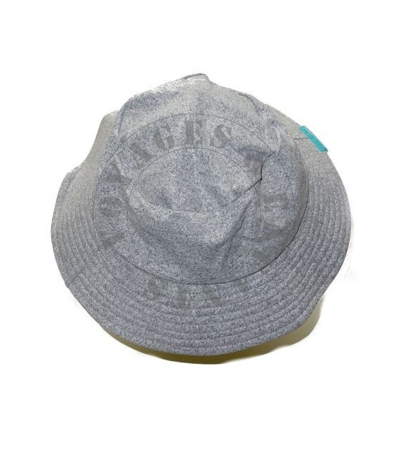 Chapeau gris chiné junior 3-6 ans anti UV Mayoparasol