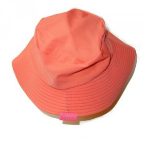 Chapeau Lentille Saumon junior 3-6 ans anti UV Mayoparasol