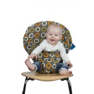 Siège Totseat bébé nomade en tissu Zest