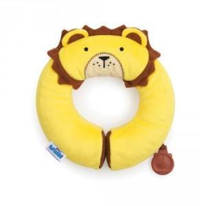 Cale tête doudou pour bébé Leeroy Lion Yondi de Trunki