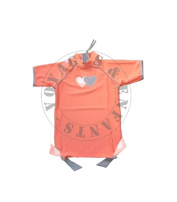 Tee-shirt anti UV Lentille corail Mayoparasol