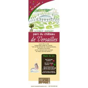 Jeux de piste enfant Parc de Versailles
