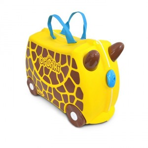 Valise enfant à roulette Girafe Gerry de Trunki