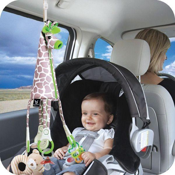 jeu bebe en voiture