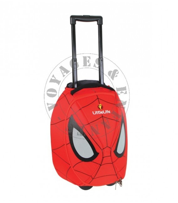 valise enfant little life spiderman. Black Bedroom Furniture Sets. Home Design Ideas