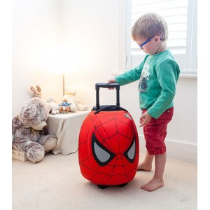 Valise enfant Little Life Spiderman rouge