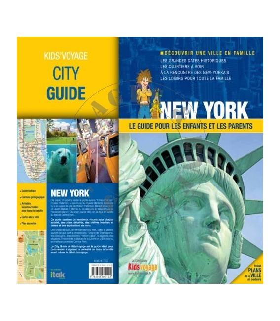 Guide de voyage pour enfant New York