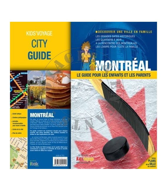 Montréal Guide voyage enfant Kid's Voyage