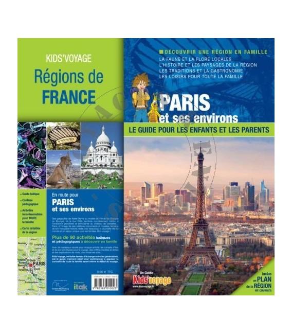 Paris et ses environs livre enfant guide Kids Voyage