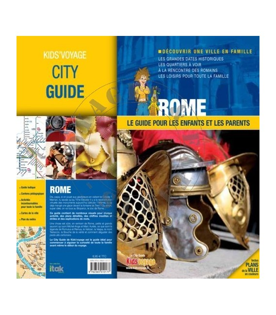 Guide de voyage pour enfant Rome