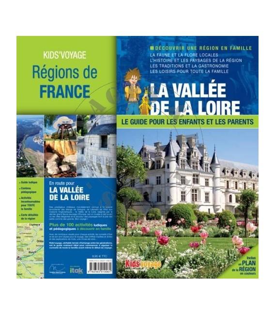 Vallée de la Loire livre guide enfant Kid's Voyage
