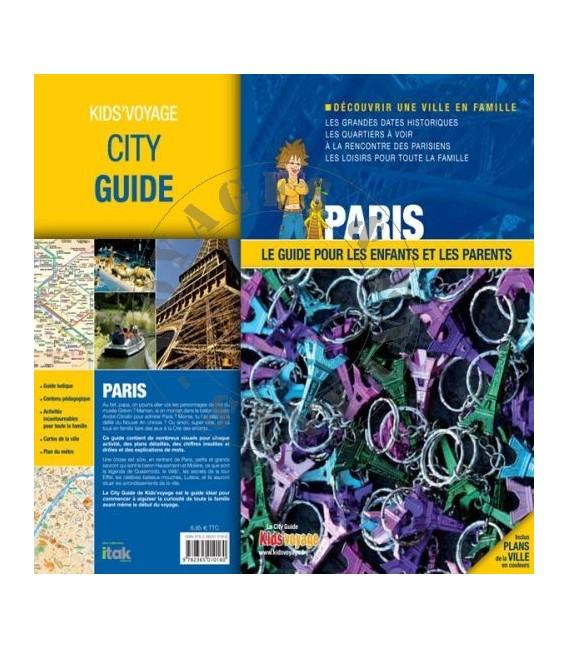 Guide de voyage pour enfant Paris
