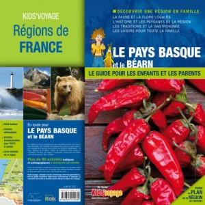 Pays Basque Guide de voyage pour enfant Kid's Voyage