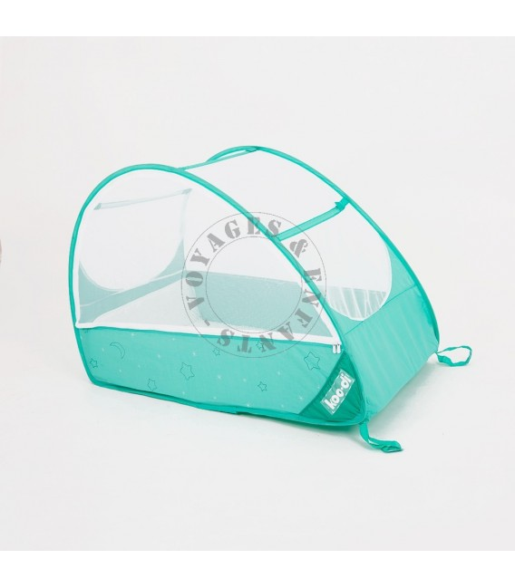 lit nomade bb pop up jusqu 18 mois koo di vert turquoise - Lit Nomade Bebe