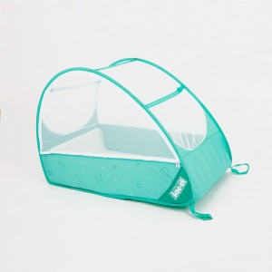 Lit nomade bébé pop-up jusqu'à 18 mois Koo-di vert turquoise