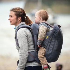 Little Life porte-bébé de randonnée compact, léger Traveller S4 gris