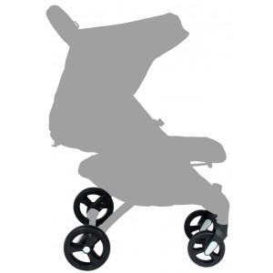 Lot 4 roues tout-terrain pour poussette Squizz Looping