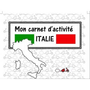 Carnet de jeux sur l'Italie