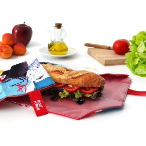 Porte-sandwich réutilisable Boc'N Roll Ado