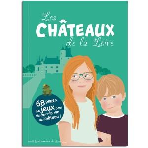 Livre jeu: Chateaux de la Loire pour les enfats