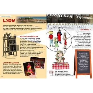 Livre jeu: La France de enfants - Bonhomme de chemin