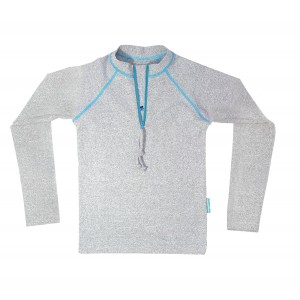 T-shirt anti UV manche Longue griset de Mayoparasol