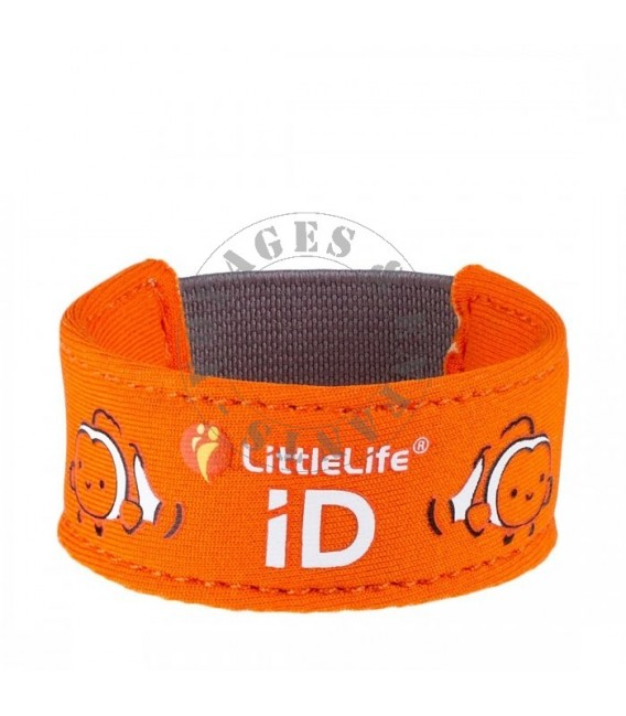 Bracelet contact sécurité LittleLife poisson clown