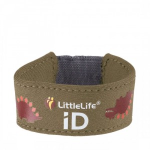 Bracelet contact sécurité LittleLife Dino