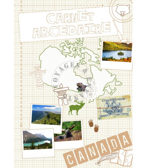 Carnet de jeux sur le Canada
