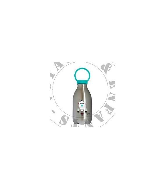 Gourde inox avec bouchon sport Loopy 450ml de Gaspajoe - Poisson