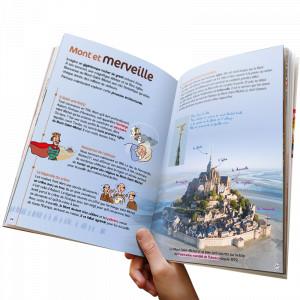 Livre jeu: la Normandie des Enfants Bonhomme de chemin