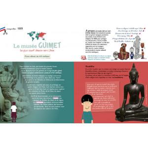 Livre jeu: les musées de Paris pour Enfants
