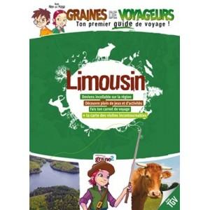 Guide de voyage pour enfant Limousin de Graines de Voyageurs