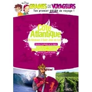 Guide de voyage pour enfant Côte Atlantique de Graines de Voyageurs